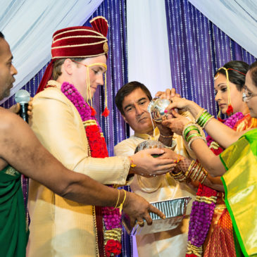 Namrata & Craig: Multicultural South Indian Style Fusion Wedding